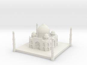 Taj Mahal 1/1000 in White Natural Versatile Plastic