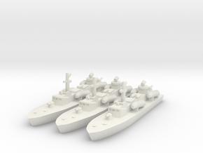 1/700 OSA-2 Missile Boat in White Natural Versatile Plastic