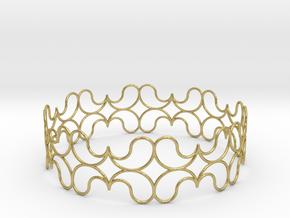 Bracelet in Natural Brass
