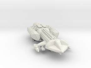 space 1999 hawk in 200 scale in White Natural Versatile Plastic