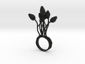 Tunla - Bjou Designs in Black Natural Versatile Plastic
