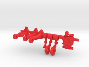 Doc Terror Microclone Driver in Red Processed Versatile Plastic