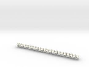 1:22,5 1506 Verkeersarmatuur 210 enkel (23x) in White Natural Versatile Plastic