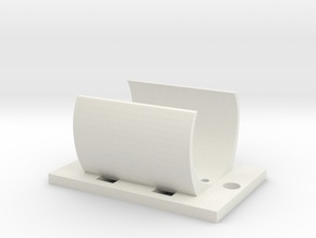 Motorhalterung Lima Maxon 249996 in White Natural Versatile Plastic