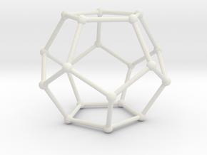 Balls And Straws in White Natural Versatile Plastic