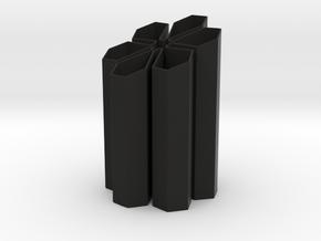 Penholder in Black Natural Versatile Plastic