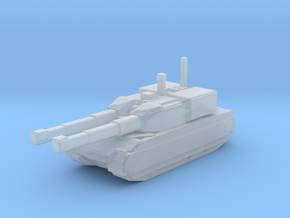 Assault Tank Warrior in Smooth Fine Detail Plastic