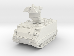 M901 A1 ITV (deployed) 1/87 in White Natural Versatile Plastic