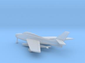 Republic F-84F Thunderstreak in Smooth Fine Detail Plastic: 6mm