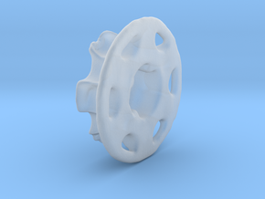 Vertical Chain Control Gear 002B  in Smooth Fine Detail Plastic