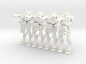 Skitarii Walker in White Processed Versatile Plastic