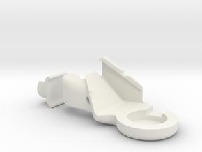 Volkswagen trunk latch repair kit in White Natural Versatile Plastic