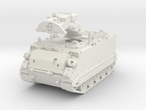 M901 A1 ITV (retracted) 1/87 in White Natural Versatile Plastic