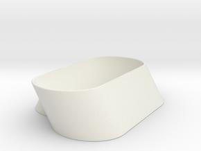 Grabber Holder in White Natural Versatile Plastic