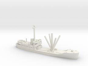 1/600 Scale AKL WW2 in White Natural Versatile Plastic