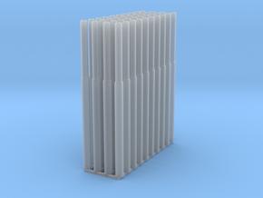 1:87 1582 BVL-mast getrapt NL (40x zelfbouw) in Smooth Fine Detail Plastic