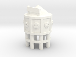 6mm - OrKy WArteR TOweR in White Processed Versatile Plastic