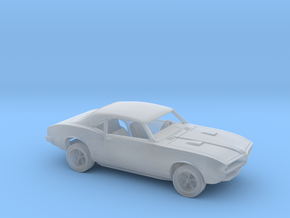 1/87 1967-68 Pontiac Firebird Kit in Smooth Fine Detail Plastic