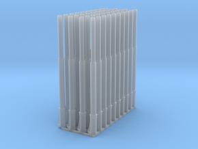 1:87 1586 BVL-mast met NIR NIK sokkel enkel (40x) in Smooth Fine Detail Plastic