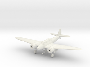1/144 Kawasaki Ki-45 Kai Toryu in White Natural Versatile Plastic
