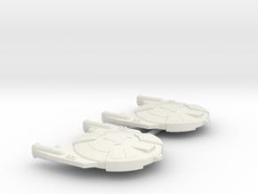 3125 Scale Andromedan Viper Frigates (2) SRZ in White Natural Versatile Plastic