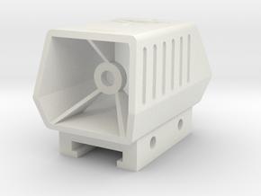 Phantom Scope for Nerf Tactical Rail in White Natural Versatile Plastic