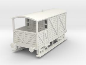 a-76-gwr-L355-1886-brake-van in White Natural Versatile Plastic