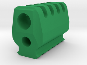 J.W. Compensator V3 (16mm-) in Green Processed Versatile Plastic