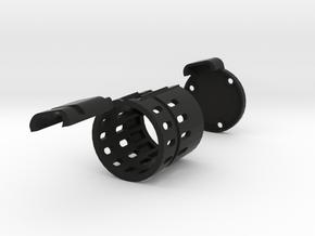 Abdeckkappe_kurz_ohne_MBZ_02 in Black Natural Versatile Plastic