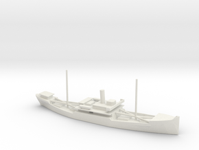 1/700 Scale 4000 ton Wood Cargo Ship Clackamas 192 in White Natural Versatile Plastic