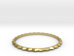 [1DAY_1CAD] BRACELET_type1 in Natural Brass
