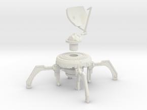 AnphelionBase_CommsDish in White Natural Versatile Plastic