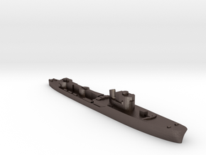 Italian Procione WW2 torpedo boat 1:1800 in Polished Bronzed-Silver Steel