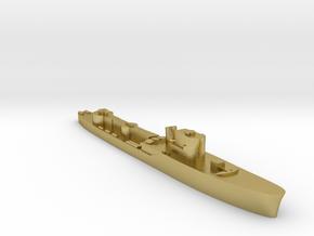 Italian Orsa WW2 torpedo boat 1:3000 in Natural Brass