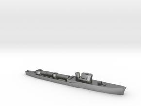 Italian Pegaso WW2 torpedo boat 1:3000 in Natural Silver