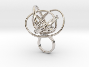 Atame Forever in Rhodium Plated Brass