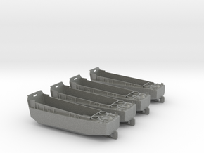 1/285 Scale LCVP Set Of 4 in Gray PA12