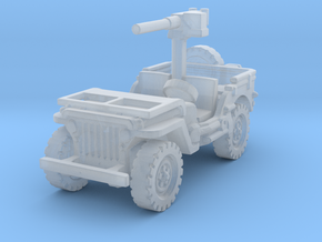 Jeep Willys 50 cal (window down) 1/120 in Smooth Fine Detail Plastic