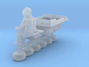 SPACE 2999 1/48 BUGGY W ASTRONAUT  in Smoothest Fine Detail Plastic