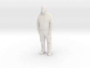 Printle C Homme 884 - 1/24 - wob in White Natural Versatile Plastic