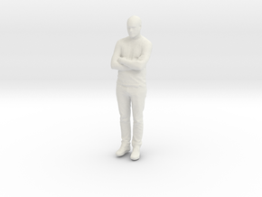 Printle C Homme 885 - 1/24 - wob in White Natural Versatile Plastic