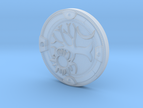 A Plague Tale Medallion in Smoothest Fine Detail Plastic