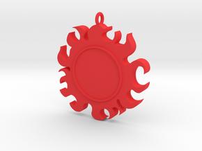 sunpirate Fishman in Red Processed Versatile Plastic