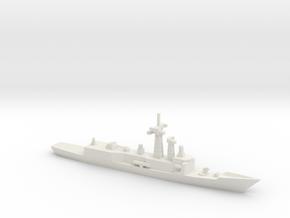 Adelaide-class frigate, 1/1250 in White Natural Versatile Plastic