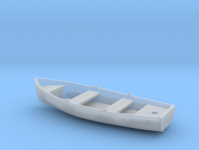 1/48 USN 12ft Wherry (Wood) in Smooth Fine Detail Plastic
