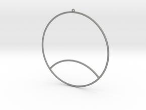 3D EARRING in Gray PA12