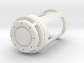Blade Plug - Proto in White Natural Versatile Plastic