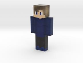 Devon_normal | Minecraft toy in Natural Full Color Sandstone