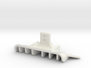 DIFFUSEUR-V2-Mc12C-GLA in White Natural Versatile Plastic