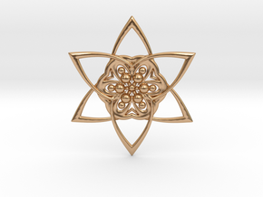 Star in Polished Bronze